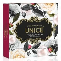 Натуральное мыло с жемчужной пудрой UNICE, 100 г