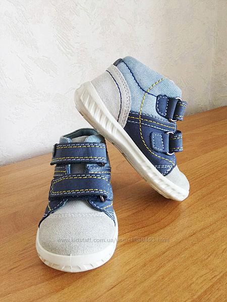 Демисезонные немецкие ботиночки, туфли Elefanten р. 21-22 на мальчика