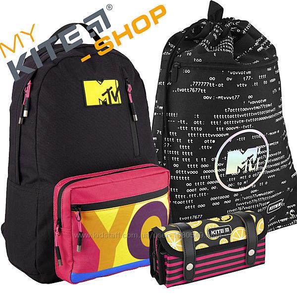 Школьный набор KITE 3 в 1 Рюкзак Сумка Пенал Подростковый Для девочки