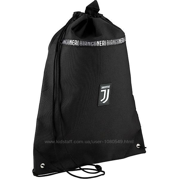 Сумка - рюкзак для сменки с карманом Kite Education FC Juventus JV20-601L