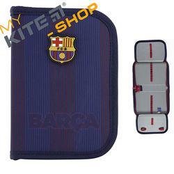 Пенал школьный Kite Education FC Barcelona Для мальчика