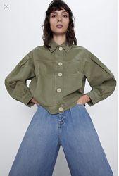 Zara куртка джинсовая жакет