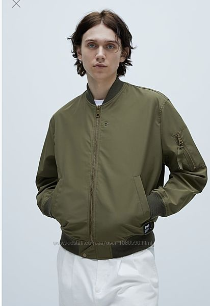 Zara куртка бомбер демисезонная