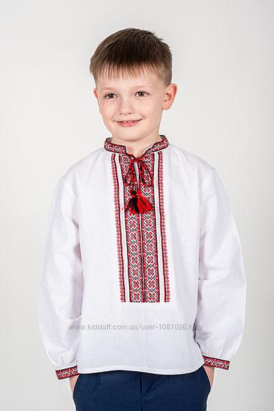 вишиванка для хлопчика Оксамитова 110-146
