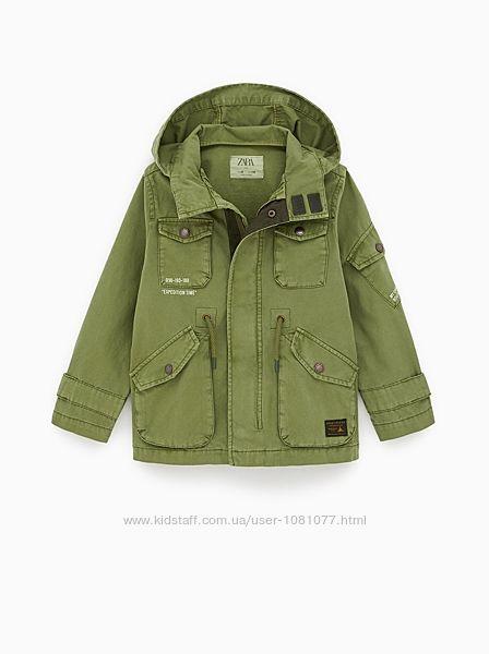 Куртка Zara, размер 9 лет