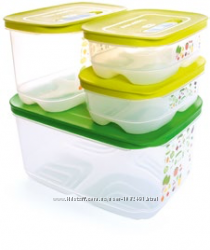 Набор контейнеров Умный Холодильник 0, 8 х 2 1, 8 л высокий 4, 4 л