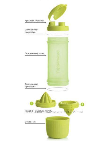 Эко-бутылка Витаминный заряд 750 мл