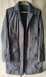 Коттоновый плащ MNG. Mango. Ветровка, куртка.