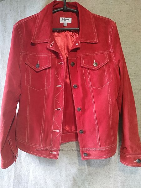 Замшевая куртка Yuppie Company. по типу джинсовки