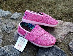 Туфли слипоны мокасины Skechers Bobs оригинал 26 р стелька 16, 5см