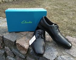 Школьные туфли на мальчика Clarks Оригинал кожа 37-40 р.