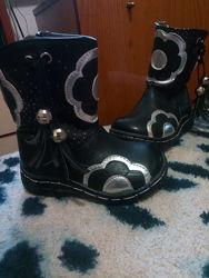 Ботинки зимние на девочку, по стельке 14 см
