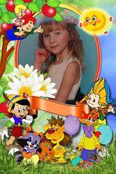Красочный слайд шоу на детский праздник