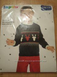 Новый свитер, джемпер, кофта Lupilu, р. 110-116,