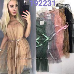 Нарядные платья с фатином