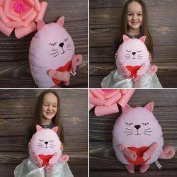 Котики подушки декоративные