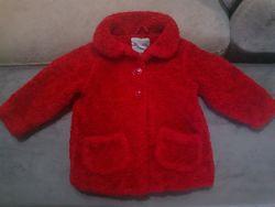 Шикарное меховое пальто на 1,5 - 2 года
