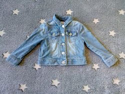 Куртка джинсовая стильная пиджак F&F , на 12-18мес