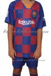 Детская футбольная форма ФК Барселона 2019-2020 Месси Основная форма
