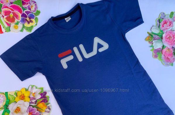 футболки для мальчишек fila