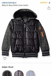 США Стильная  куртка Urban Republic 3 T, куртка на 98-104 см