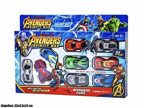 Набор машинок инерционные Марвел 9 шт. , машинки Marvel ...