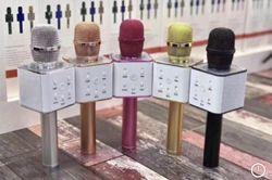 Микрофон-караоке с динамиком, Bluetooth, микрофон Q7