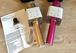 Микрофон караоке с динамиком , Bluetooth, Беспроводной микрофон Q7