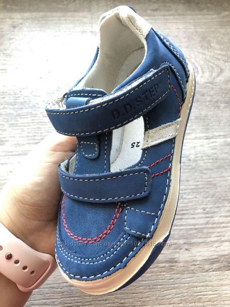 НОВЫЕ кожаные туфли-кеды для мальчика степ нові шкіряні супінатор мешти