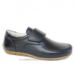 Новые кожаные лоферы-туфли для мальчика шкіряні мешти шкільні для хлопчик