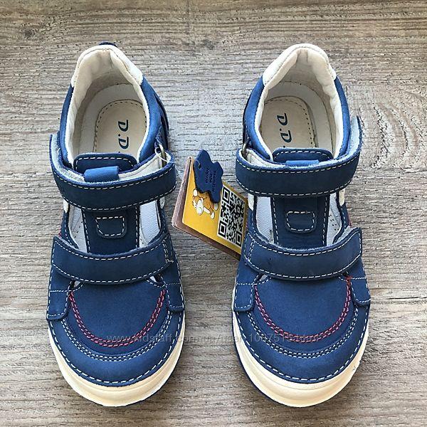 Новые кожаные спортивные туфли ТМ D. D. Step супинатор жесткая пятка мокасины
