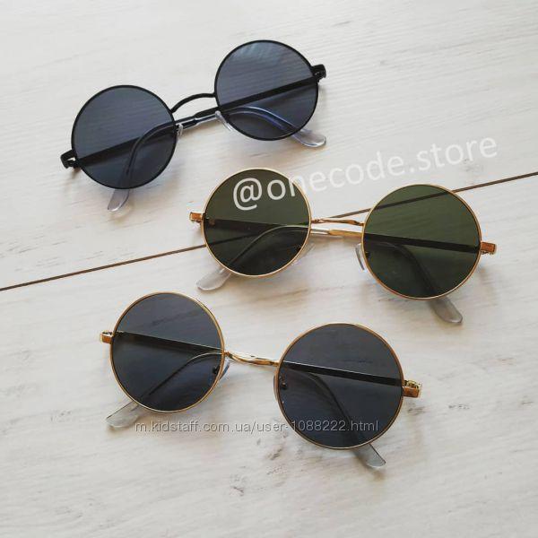 Круглые очки, солнцезащитные, солнечные