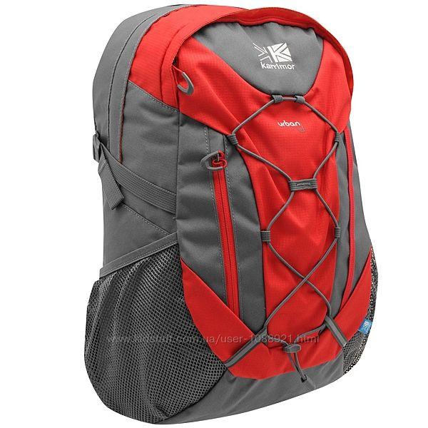 Городской рюкзак Karrimor Urban 30 Rucksack Charcoal Red Оригинал Городской