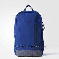 Рюкзак Adidas CLASSIC 3 stripes Navy Backpack Оригинал городской спортивный