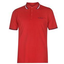 Рубашка поло футболка Pierre Cardin Polo Pique Red Оригинал Красный котон