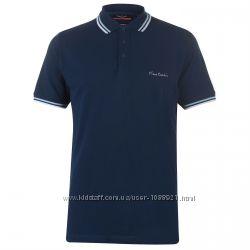 Рубашка поло футболка Pierre Cardin Navy Оригинал Синий цвет Хлопок