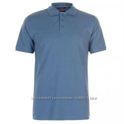 Рубашка поло футболка Pierre Cardin Denim Blue Оригинал Синий цвет