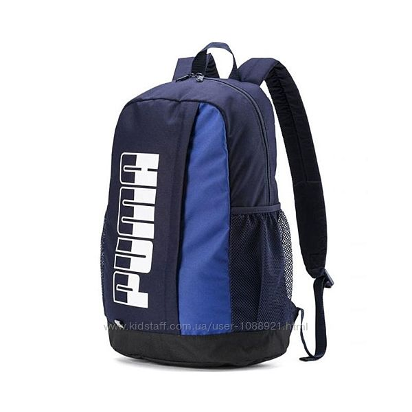 Рюкзак Puma Plus BackPack II Navy Оригинал Городской спортивный Синий Синий