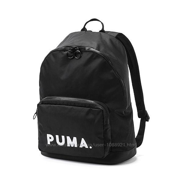 Рюкзак Puma Originals Backpack Trend 24L Black Оригинал Городской чёрный