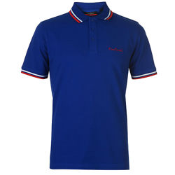 Рубашка поло футболка Pierre Cardin Pique Polo Royal Оригинал Синий Хлопок
