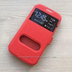 Фирменный Красный чехол Nillkin к Samsung Galaxy S4 i9500