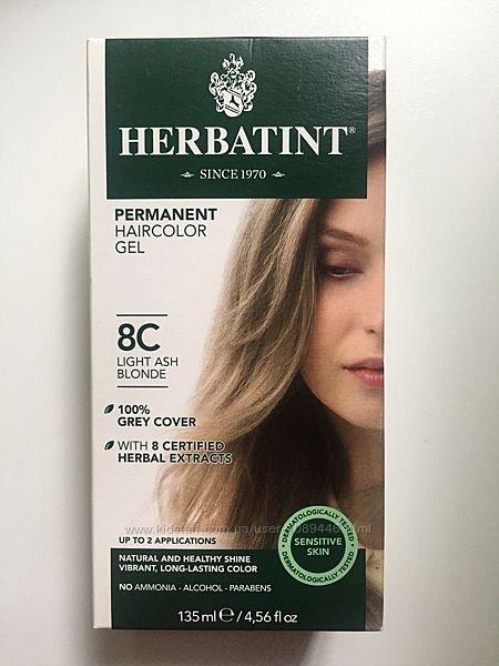 Краска для волос Herbatint 8C Светло пепельный блонд 135 мл