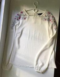 Блузка с вышивкой вышиванка New Look uk 8