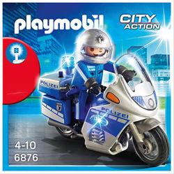 Playmobil 6876 Поліцейский патрульний мотоцикл.