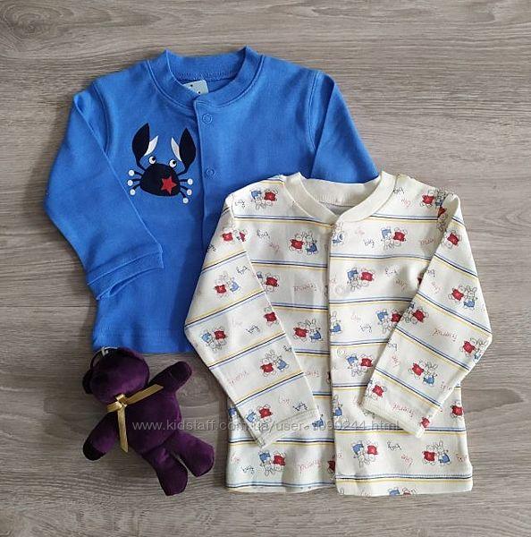 Кофта для новорожденных Краб Полоски. Польша