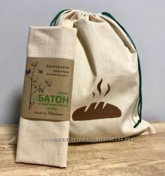 Эко мешок для хлеба Месье Батон, самозатягивающиеся.