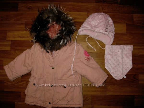 верхняя одежда девочке на 1-3 года часть 5