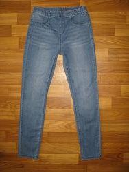 джинсы, штаны,  девочке на 6-11 лет
