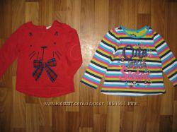 свитшоты, кофты, флиски, туники, регланы девочке на 1-3 года ч 1