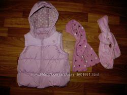 жилетки и куртка-пиджак девочке на 1-3 года